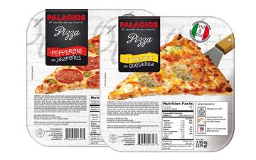 Frozen pizzas mini USA