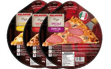 Frozen pizzas standard format - 27 cm
