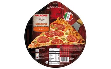 Pepperoni and Jalapeño Pizza