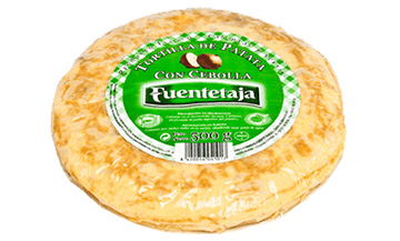 Tortilla pasteurised with onion