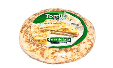 Tortilla pasteurised, filled