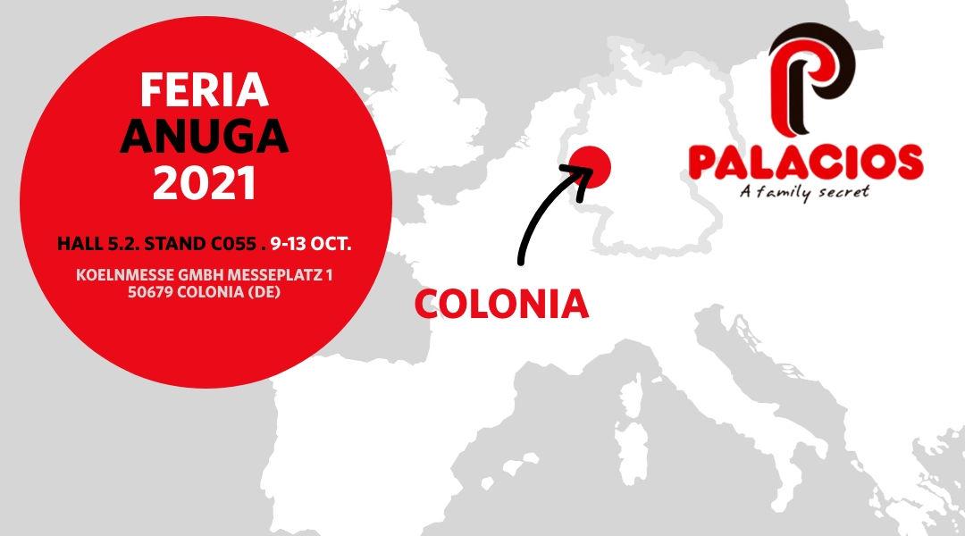 Palacios Alimentación will be present at the Anuga International Trade Fair