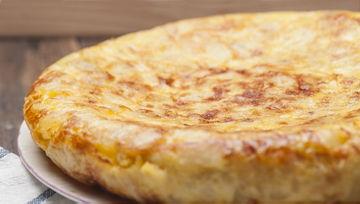 Frozen omelettes